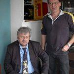 Harry Messner und Bernd-Michael Werner in der Pause.
