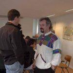 Martin Böhm und Mario Born im angeregten Gespräch.
