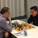 Brett 3: rechts Branimir Vujic (Elo 2347) gegen GM Davor Rogic (Elo 2511)