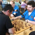 Branimir Vujic (links) gegen GM Borki Predojevic